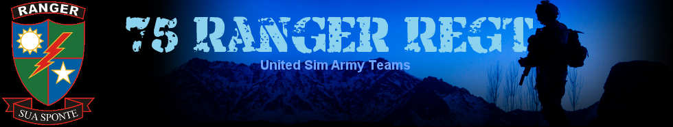 Welcome to the 75th Ranger Regiment - A United Sim Army Team
